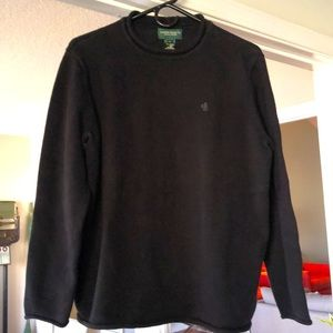 Ralph Lauren Jeans Black Cotton Sweater
